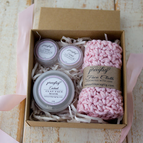 Enchant Facial Gift Box | Rose, Bergamot & Sandalwood | For Dry/Mature Skin Types