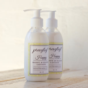 Happy Body & Hand Lotion | Lemongrass & Eucalyptus
