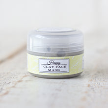 Load image into Gallery viewer, Happy Kaolin Clay Face Mask | Lemongrass & Eucalyptus | For Normal & Combination Skin