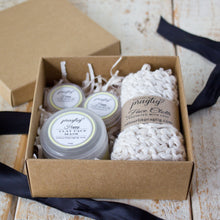 Load image into Gallery viewer, Happy Facial Gift Box | Lemongrass & Eucalyptus | For Normal/Combination Skin Types