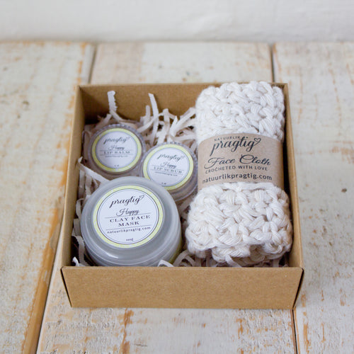 Happy Facial Gift Box | Lemongrass & Eucalyptus | For Normal/Combination Skin Types