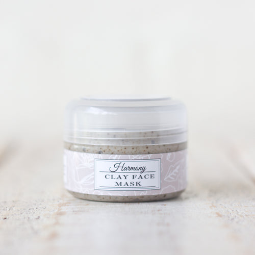 Harmony Kaolin Clay Face Mask | Coffee & Vanilla | For All Skin Types