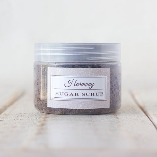 Harmony Body Sugar & Coffee Scrub with Vanilla