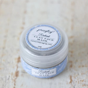 Radiant Kaolin Clay Face Mask | Grapefruit, Neroli & Rose | For Oily Skin