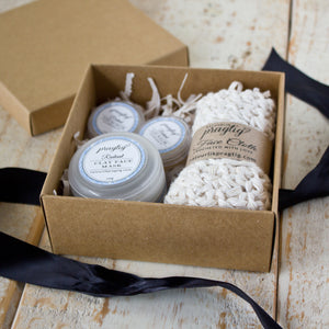 Radiant Facial Gift Box | Grapefruit, Neroli and Rose | For Oily Skin Types
