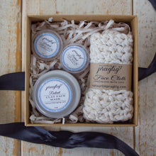 Load image into Gallery viewer, Radiant Facial Gift Box | Grapefruit, Neroli and Rose | For Oily Skin Types