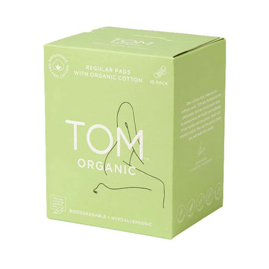 TOM Organic Regular Ultra Thin Pads (10)
