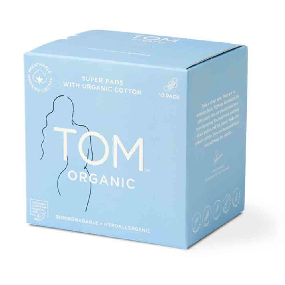 TOM Organic Super Ultra Thin Pads (10)