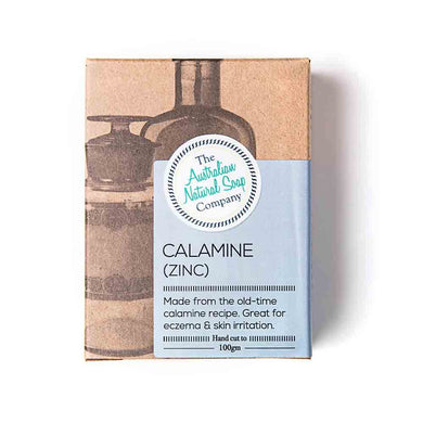 The Australian Natural Soap Company Calamine (Zinc) 100g