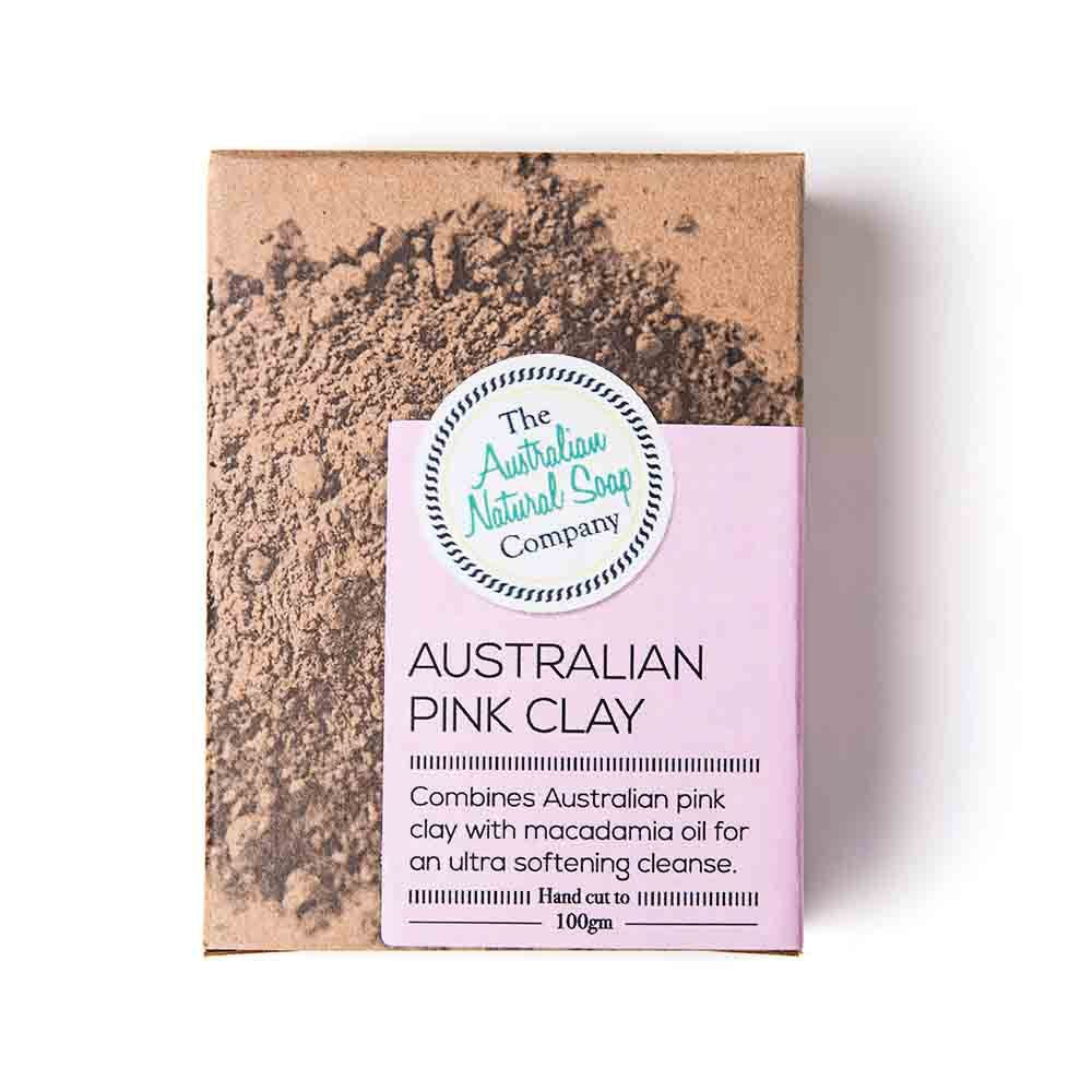 The Australian Natural Soap Company Australian Pink Clay (100g)