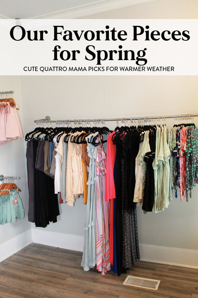 Graphic for our favorite pieces for spring