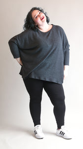 Plus Size Cozy Dolman Sweater