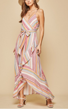 Load image into Gallery viewer, Striped Summer Maxi Dress