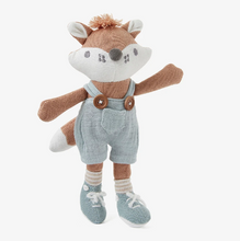 "Load image into Gallery viewer, 8"" Mini Felix Fox Baby Knit Toy"