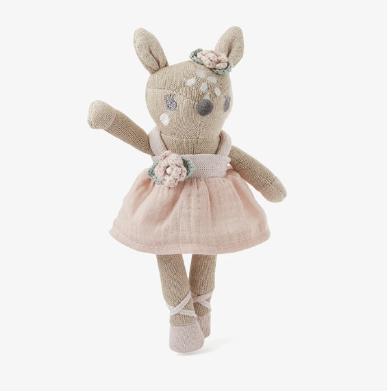 "8"" Fawn Baby Knit Toy"