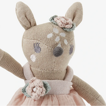 "Load image into Gallery viewer, 8"" Fawn Baby Knit Toy"