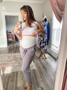 Maternity Brushed Sweatpants