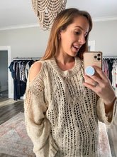 Load image into Gallery viewer, Crochet Dreams Sweater