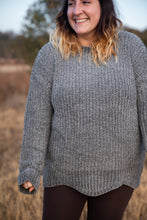 Load image into Gallery viewer, Cozy Chenille Heather Oversized Sweater