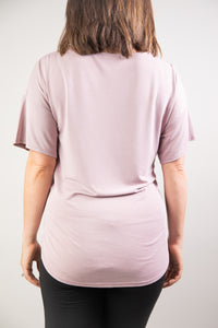 Super Soft Front Tie Top