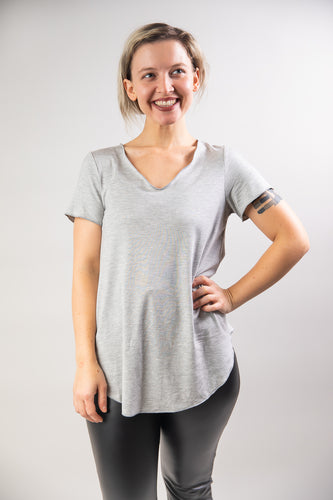 The Everyday Solid Shortsleeve Top