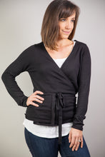 Load image into Gallery viewer, Wrap Knit Ballet Cardigan