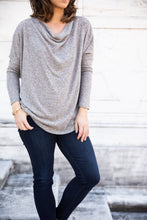 Load image into Gallery viewer, Long Sleeve Cowl Neck Sweater