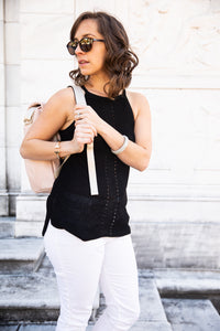 Knit Sweater Power Halter
