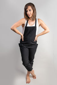 Savannah Black Overall Jumper