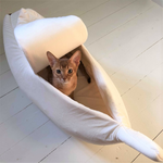 Cat's Favorite Banana Peel Bed