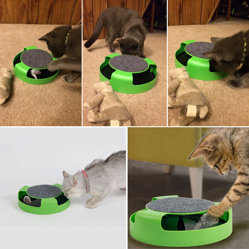 Cat & Mouse Toy
