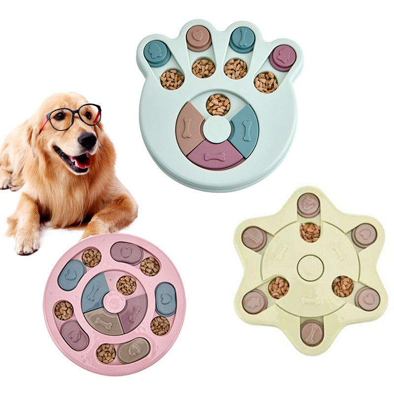 The Puzzler™ - Treat Dispensing IQ Dog Puzzle