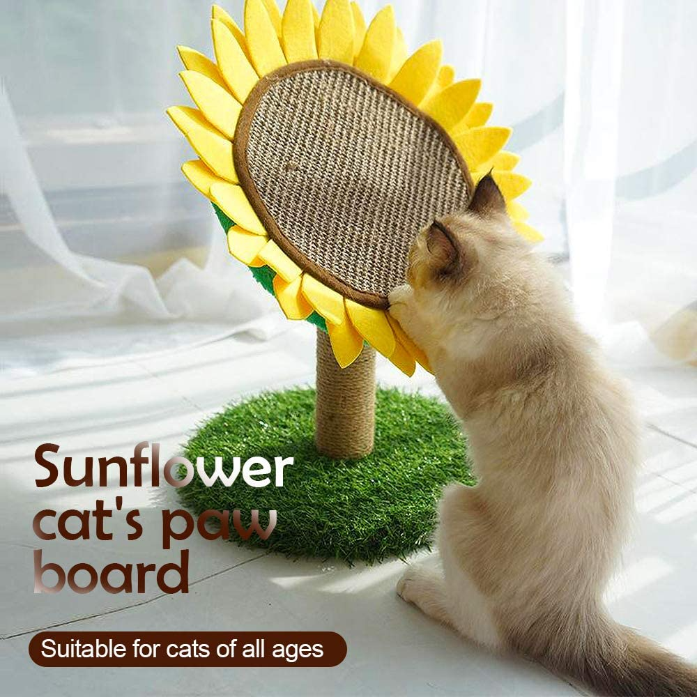 Decorative Sunflower Scratching Post