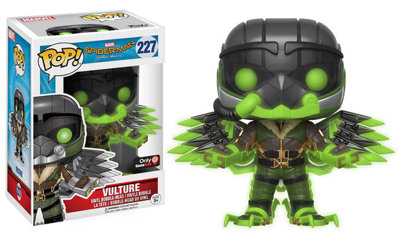 Funko Pop! Marvel: Spider-Man Homecoming - Vulture #227 GameStop Exclusive