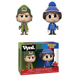 Funko Vynl! Strange Brew- Bob + Doug McKenzie Fan Expo 2018 Exclusive