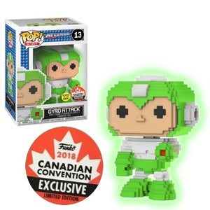 Funko Pop! 8-Bit: Megaman- Gyro Attack #13 Canadian Convention 2018 Exclusive