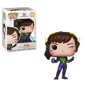 Funko Pop! Games: Overwatch - D.VA #492 GameStop Exclusive