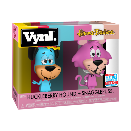 Funko Vinyl: Hanna-Barbera - Huckleberry Hound + Snagglepuss Fall Convention 2018 Exclusive