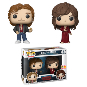 Funko Pop! Television: Stranger Things - Billy & Karen Wheeler 2 Pack SDCC 2018 Exclusive