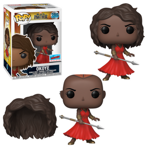 Funko Pop! Marvel: Black Panther - Okoye #385 NYCC 2018 Exclusive