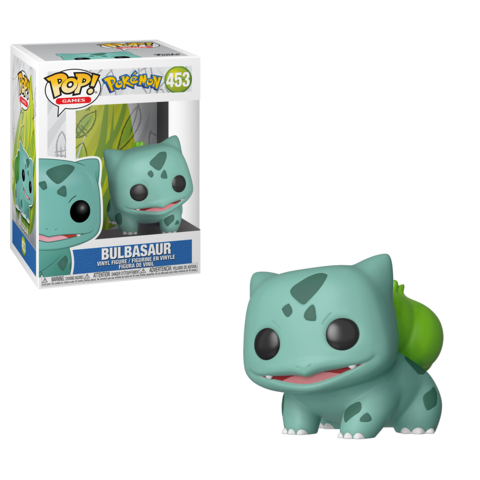 Funko Pop! Games: Pokemon - Bulbasaur #453