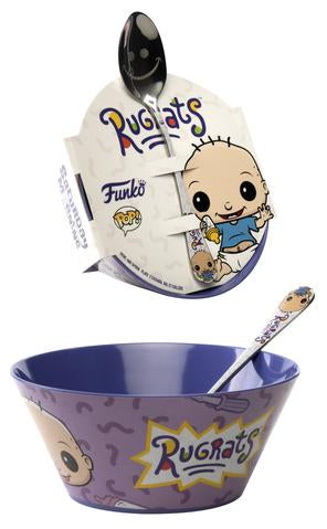 FunkO's Cereal  Bowl with Spoon: Rugrats - Tommy Pickles