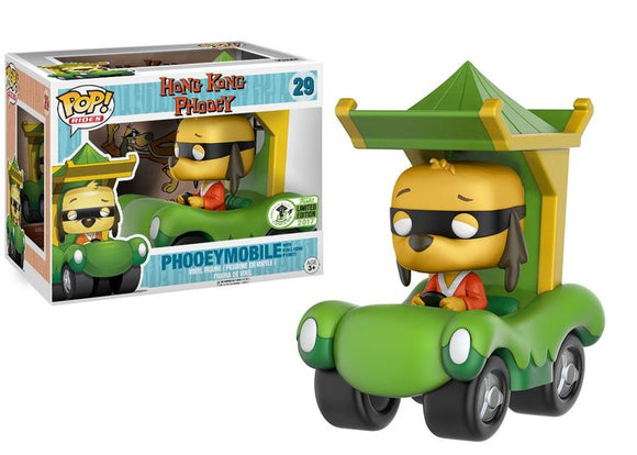 Funko Pop! Rides: Hong Kong Phooey- Phooeymobile #29 ECCC 2017 Exclusive