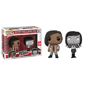 Funko Pop! Movies: Scott Pilgrim vs. the World - Matthew Patel & Demon Chick 2 Pack Summer Convention 2018 Exclusive