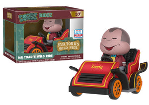 Funko Dorbz: Ridez- Mr. Toad's Wild Ride #37 LE 750 PCS NYCC 2017 Exclusive