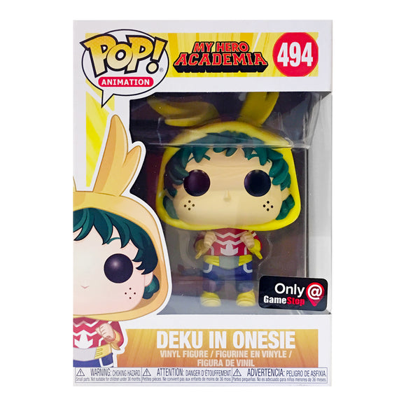 Funko Pop! Animation: My Hero Academia - Deku In Onesie #494 GameStop Exclusive