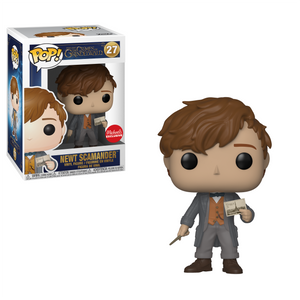 Funko Pop! Fantastic Beasts: The Crimes of Grindelwald - Newt Scamander #27 Michaels Exclusive