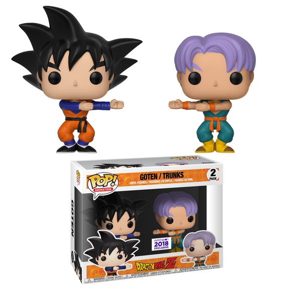 Funko Pop! Animation: Dragon Ball Z - Goten / Trunks 2 Pack