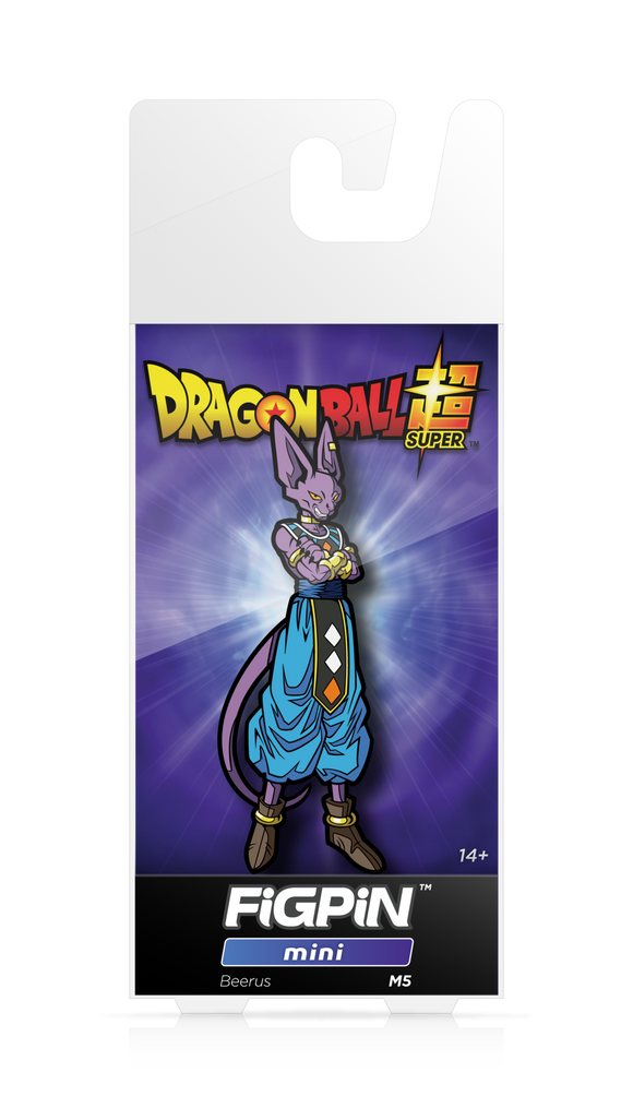 FiGPiN Mini Dragon Ball Super: Beerus - Collectible Pin