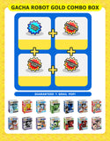 Gacha Robot Mystery Box Gold Combo Vending Machine
